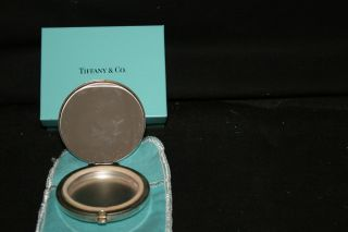 Tiffany Vintage Compact Sterling Silver 2 1/2