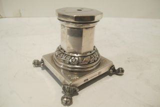 18th Or Early 19th Century Silver Pedestal, ,  Marked. photo