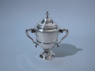 Georgian English London Crichton Sterling Silver Trophy Cup George V 1915 photo