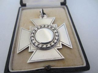Sterling Silver A.  P.  S.  Shooting Medal. . .  1925. . . photo