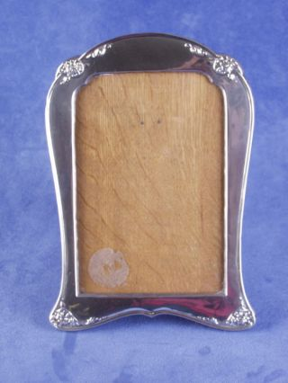 English Picture Frame Sterling Silver Art Nouveau Stamp photo