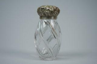 American Sterling Silver And Cut Glass Sugar Shaker Jacobi & Jenkins photo