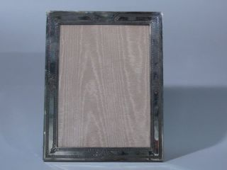 Lebkuecher American Sterling Silver Photo Picture Frame Aesthetic C 1890 photo