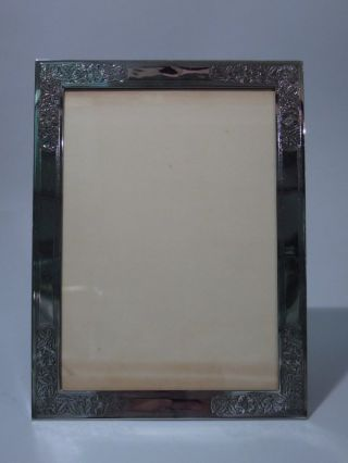 Tiffany American Sterling Silver Picture Photo Frame C 1910 photo
