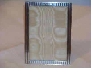 Vintage Classic Art Deco Sterling Frame