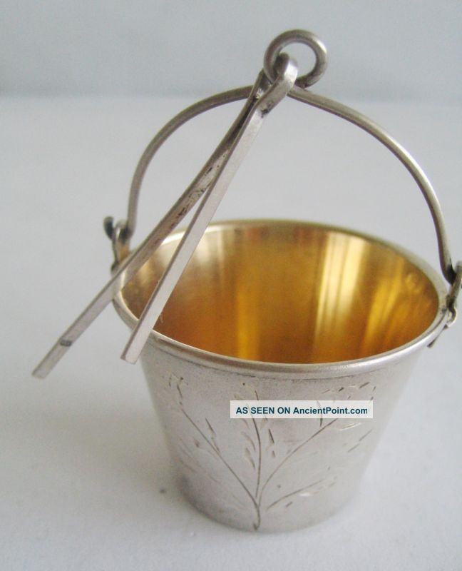Old Russian 875 Silver Tea Strainer Other photo