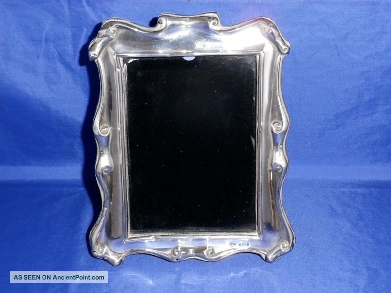 1905 Antique English Sterling Silver Photo Frame Other photo