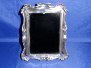 1905 Antique English Sterling Silver Photo Frame photo