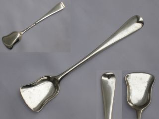English Sterling Silver Queen Victoria 1879 Sugar Shovel London. photo