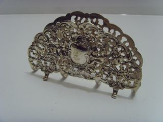 Superior Silver Letter Rack photo