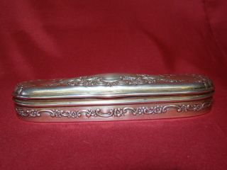 Wonderful Antique Tiffany & Co Stering Silver Eye Glass Case No Monogram photo
