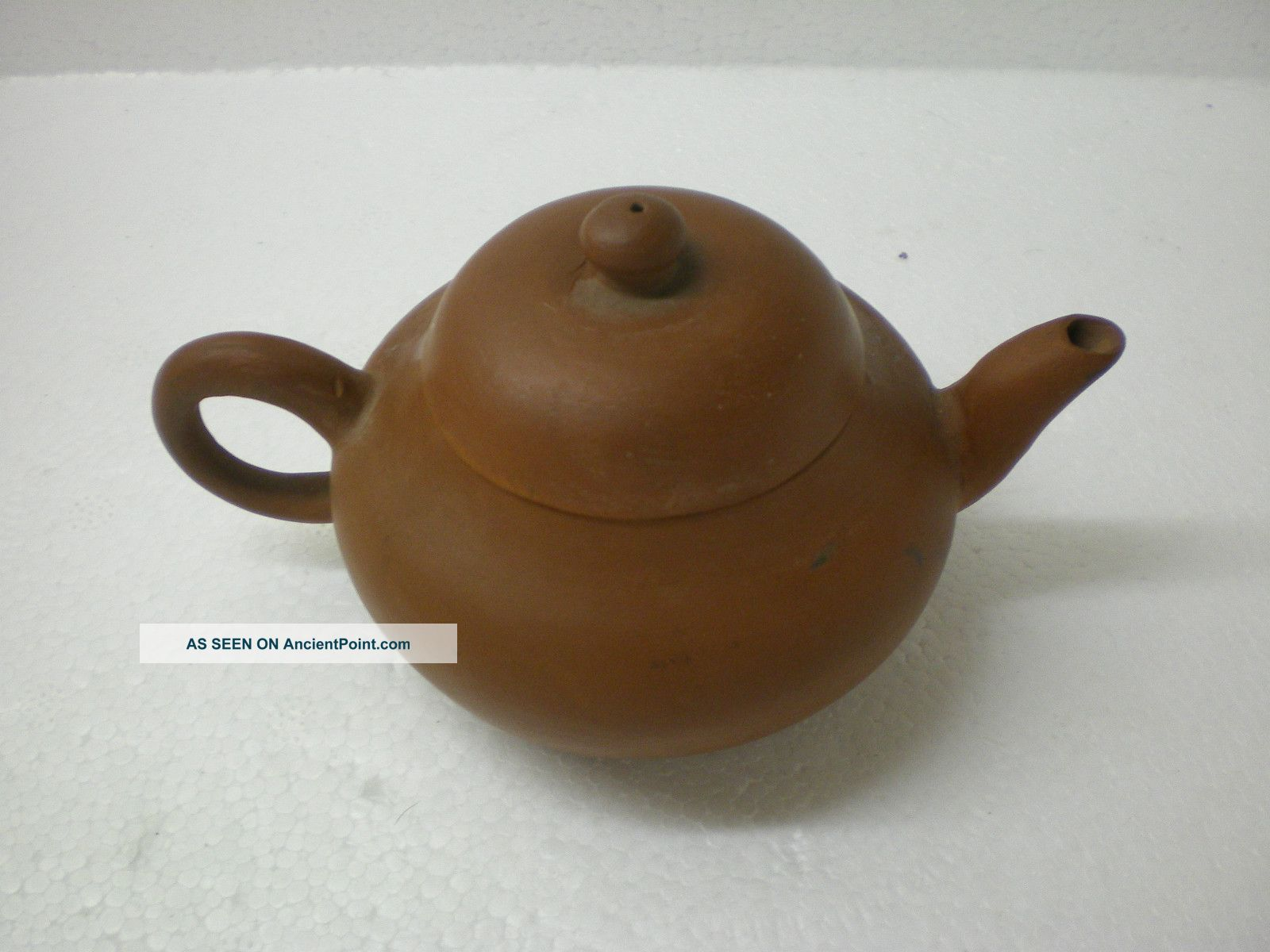 Small Antique Chinese Yixing Clay Teapot 19th Century Teapots photo