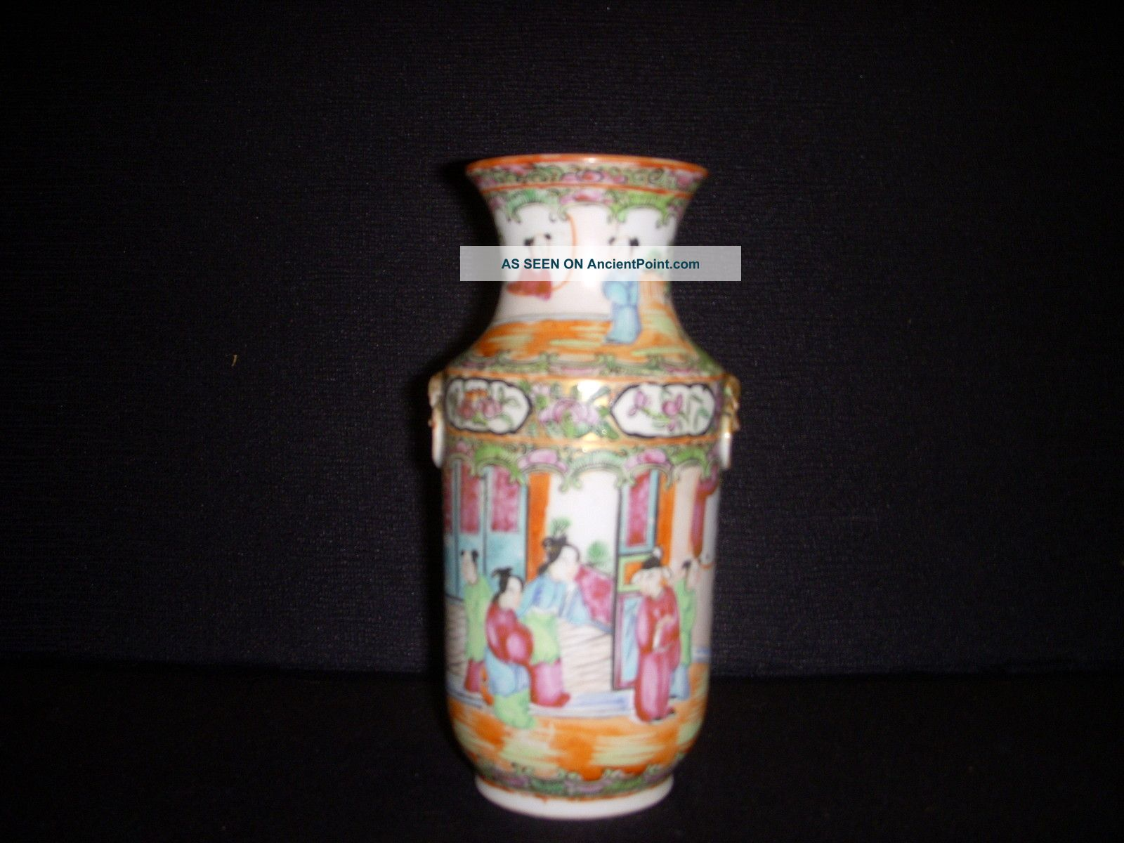 Rose Mandarin Porcelain Vase Vases photo
