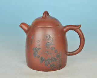Antique Chinese Yixing Teapot photo