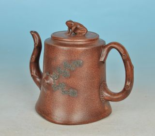 A Rare China ' S Yixing Teapot photo