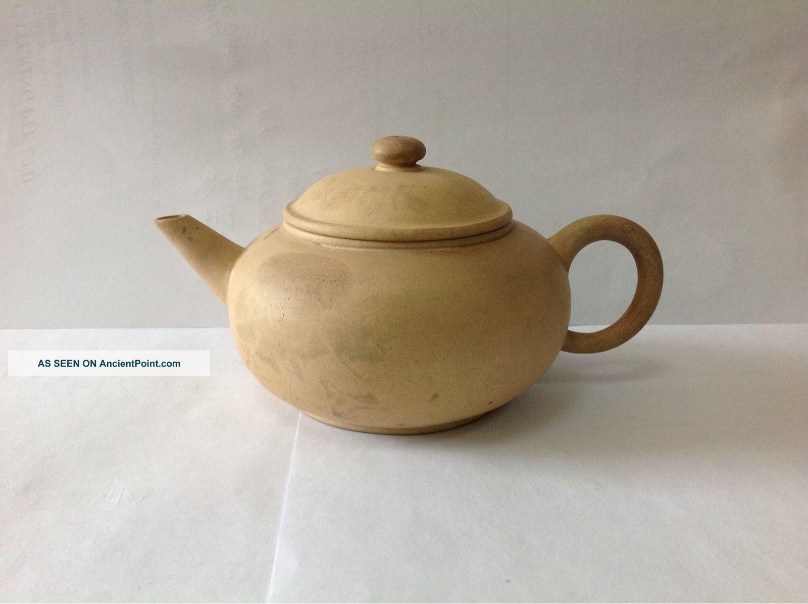 Qing Dynasty Yixing Zisha Teapot Teapots photo