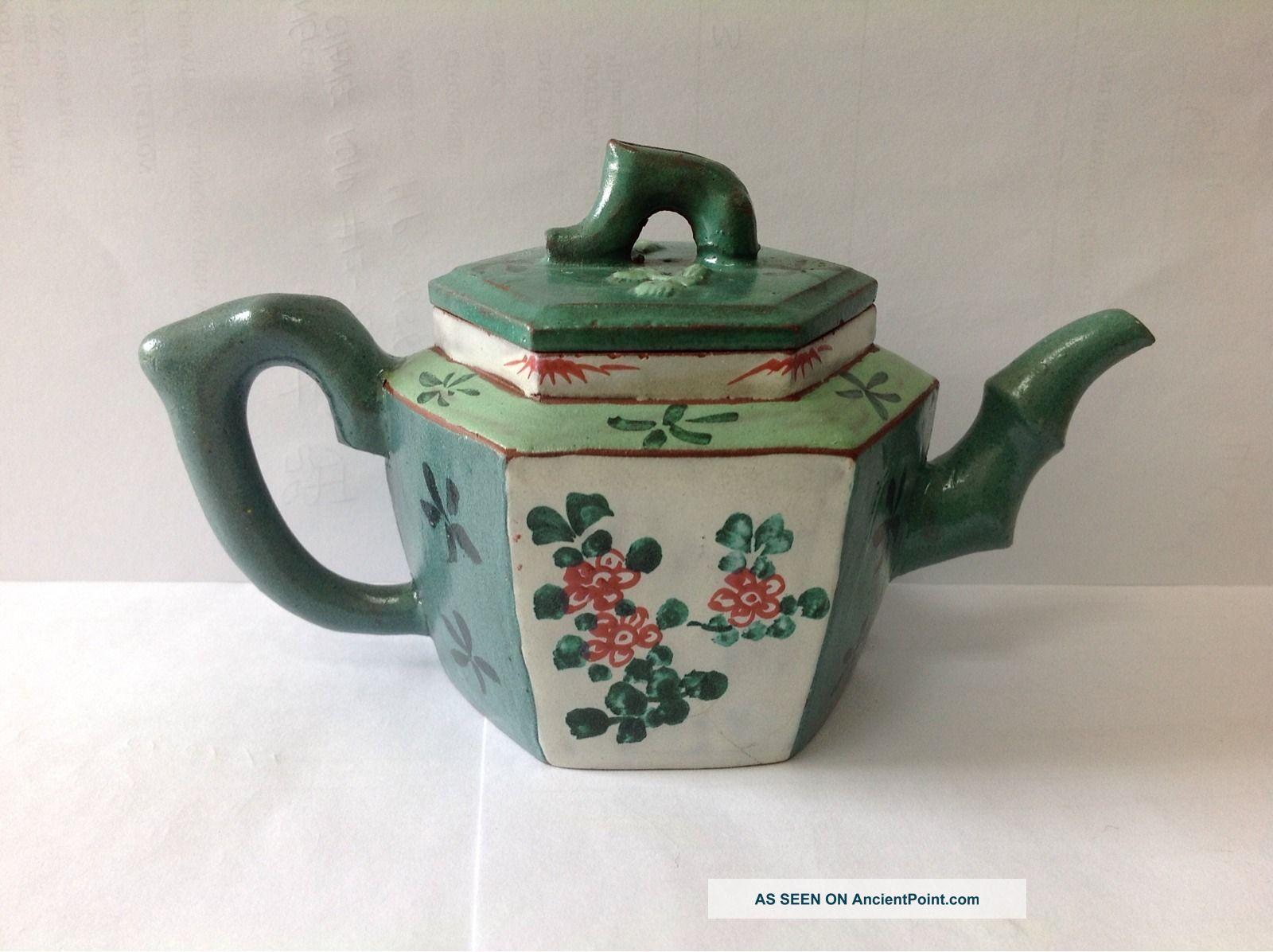 Mid Qing Dynasty Yixing Zisha Teapot Teapots photo