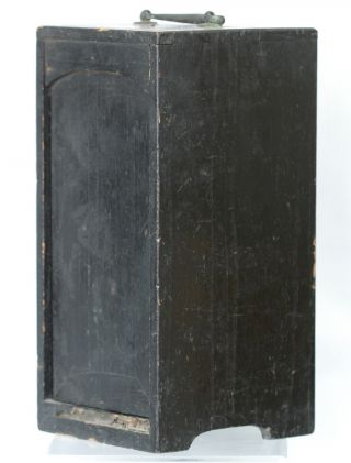 Late 1800s Antique Chinese Wooden Lacquer Box photo