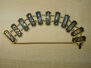 Japanese Mixed Metal 24k Bracelet photo