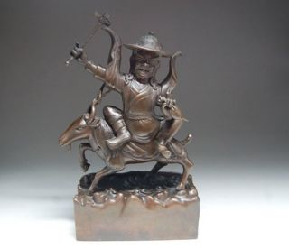 Rare Chinese Bronze Statue - Tibetan Buddhism Nr photo