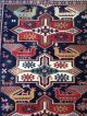 Antique Shirvan Caucasian Kazak Russian Oriental Wool Carpet Rug Very Fine Birds Other photo 2