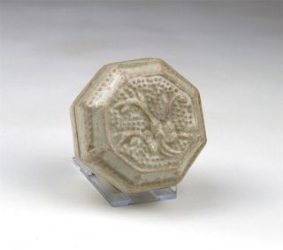 Antique Chinese Song /yuan Qingbai / Yingqing Octagonal Covered Cosmetic Box photo