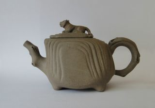 Chinese Yixing Crouching Tiger Hidden Dragon Zisha Teapot photo