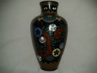 Detailed Little Cloisonne Vase photo