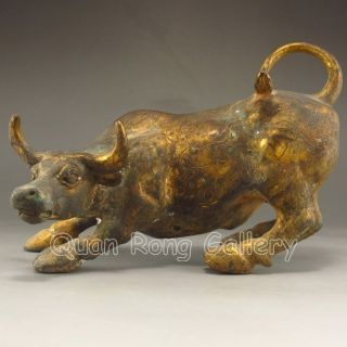 Chinese Bronze Statue - Ox Nr photo
