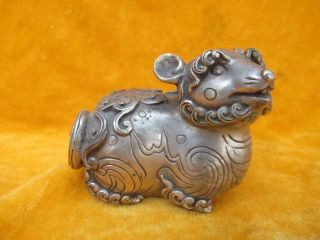 Copper Mice Statues Shining Chinese Old Ancient photo