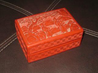 Early 1900s Cinnabar Box photo