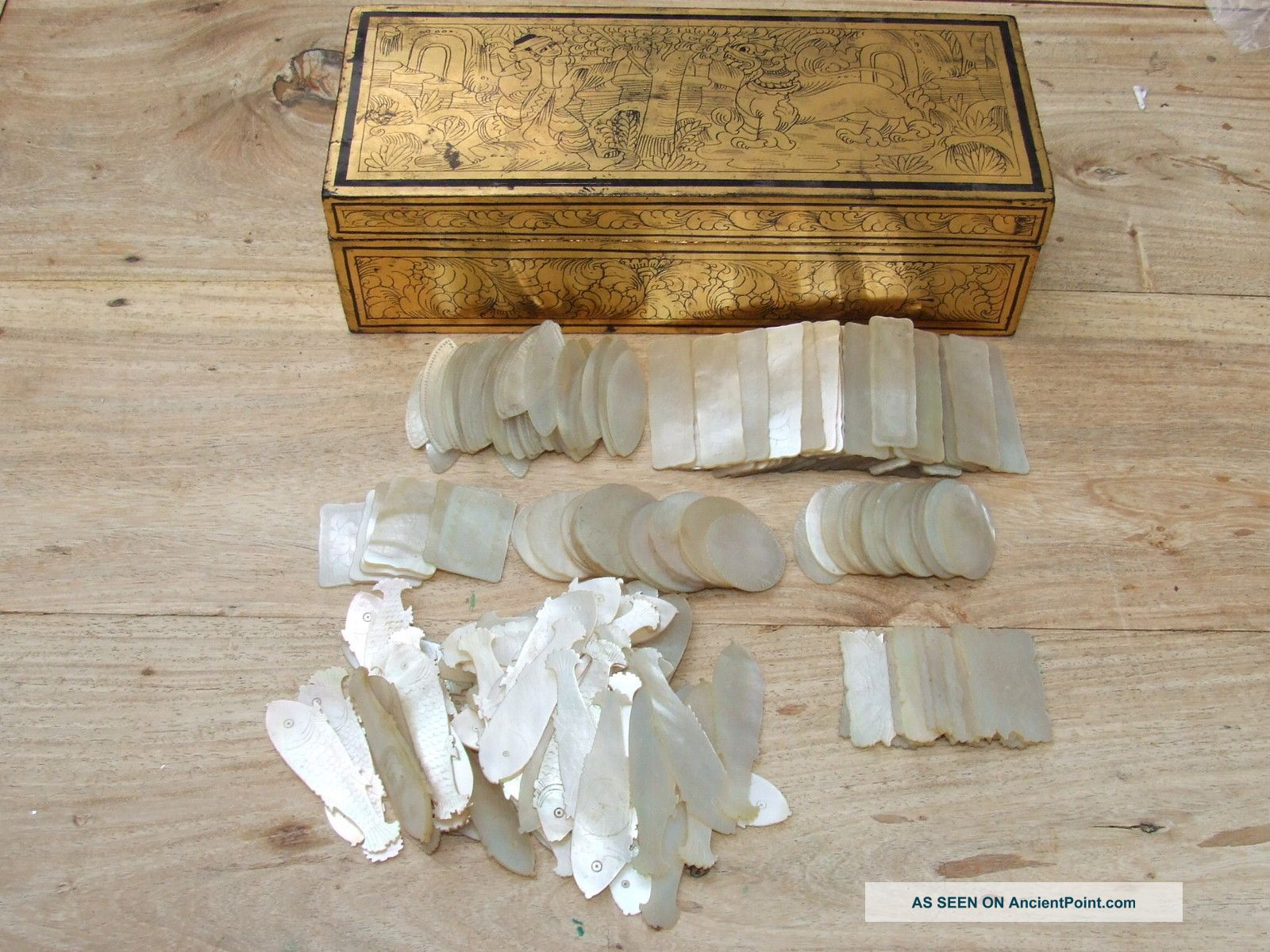 Image result for antique gaming counters ivory
