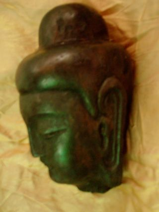 Silk Road.  Chinese Bodhisattva Head.  Wei Or Qi Dynasty Style.  Reproduction. photo