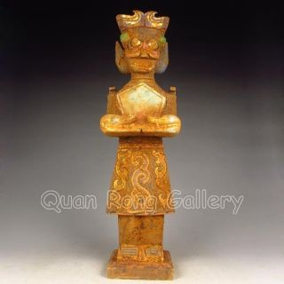 Chinese Jade Statue - Ancient General Nr photo