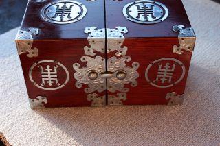 Antique China Jewerly Box photo