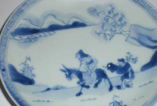 18t Century Chinese Porcelain Ca Mau Cargo 1725 Saucer Dish Plum Blossom Antique photo