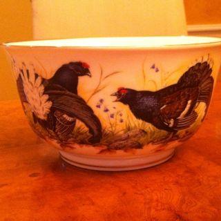 The Game Bird Bowl Fine Porcelain By Franklin Porcelain photo