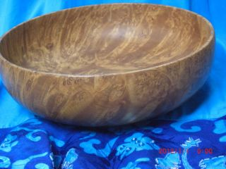 Vintage Antique Birdseye (bird ' S Eye) Maple Bowl,  Patina photo