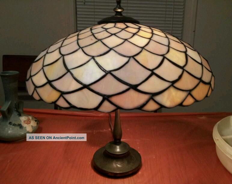 antique tiffany stained glass lamps. Black Bedroom Furniture Sets. Home Design Ideas