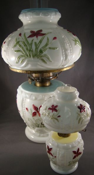 Kerosene Oil Lamp Miniature &parlor Size