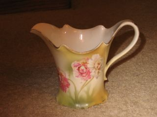 Antique Reinhold Schlegelmilch (rs Germany) Small China Pitcher photo