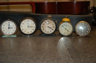 Westclox Big Ben 5 Vintage 1920 ' S Early Bird Alarm Parts Not Working 1930 photo