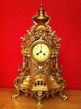 Great Bronze Clock Style Louis Xvi Signed Boname (besanÇon) Seloncourt photo