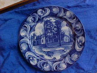 Kip - Beekman - Heermance House Rhinebeck Royal Doulton China Plate Higgins & Seiter photo