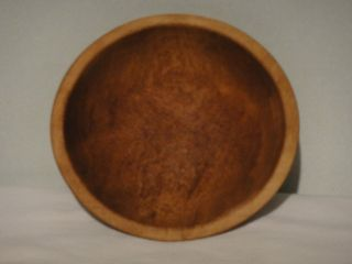 Vintage Munsing Wood Dough Bowl 9 - 3/8