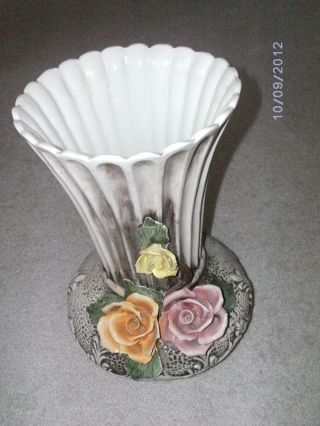 capodimonte porzellan rose