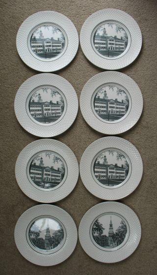 8 Dartmouth College Collector Plates