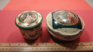 Decorated British Ceramic Covered Bowls photo