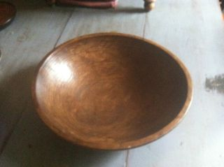 Wooden Bowl - Vintage,  Primitive Style photo