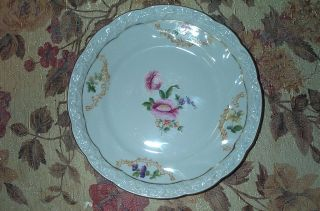 Antique Antiquarian Porcelain Plate Germany,  1921 photo